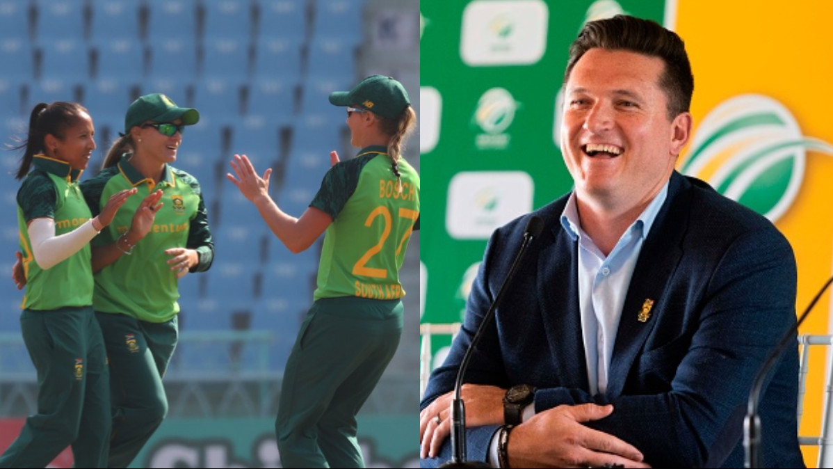 INDW v SAW 2021: Graeme Smith lauds South Africa women, says