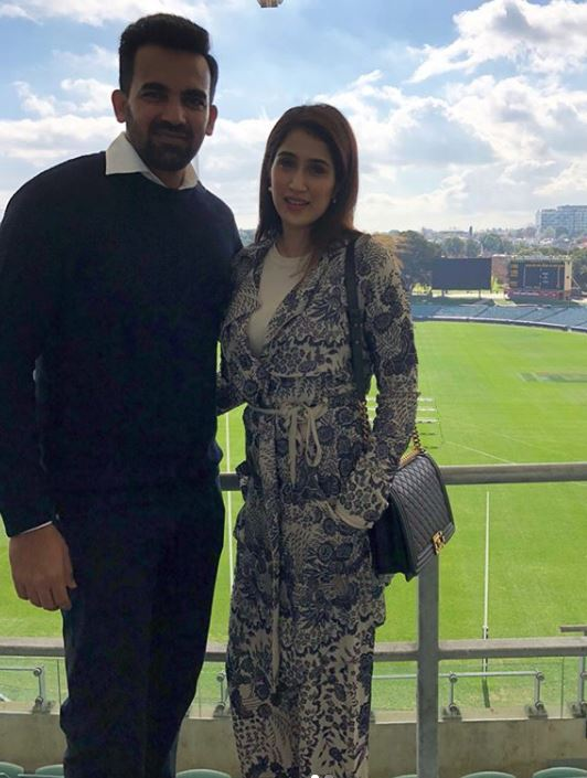 Zaheer Khan and Sagarika Ghatge | Instagram