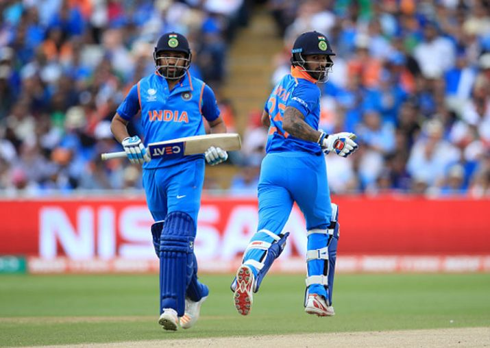 Shikhar Dhawan and Rohit Sharma are one of the best opening pairs in world cricket today | Getty