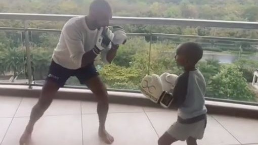 WATCH- Shikhar Dhawan has boxing session with son Zoravar amid Coronavirus lockdown