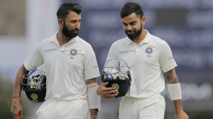 ENG vs IND 2018 : Current Indian batsmen's Test record away from home