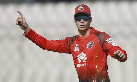 Steve Smith injured his elbow during Bangladesh Premier League 2019