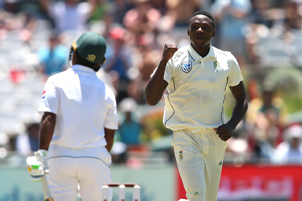 Rabada bowled proficiently and returned with third innings' figures of 4/61 | Getty