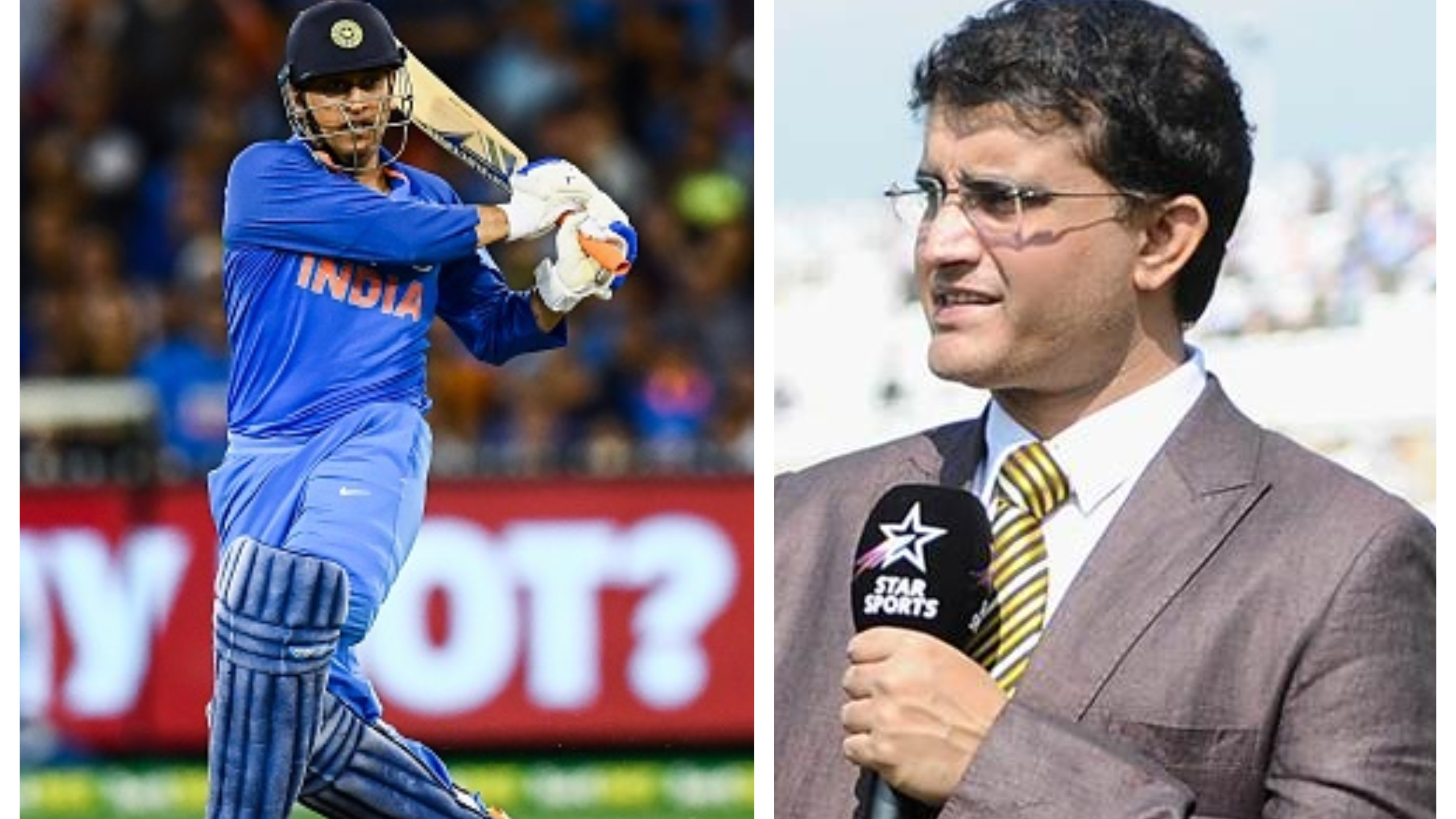 AUS v IND 2018-19: Sourav Ganguly wants MS Dhoni to bat at No.4 in World Cup 2019
