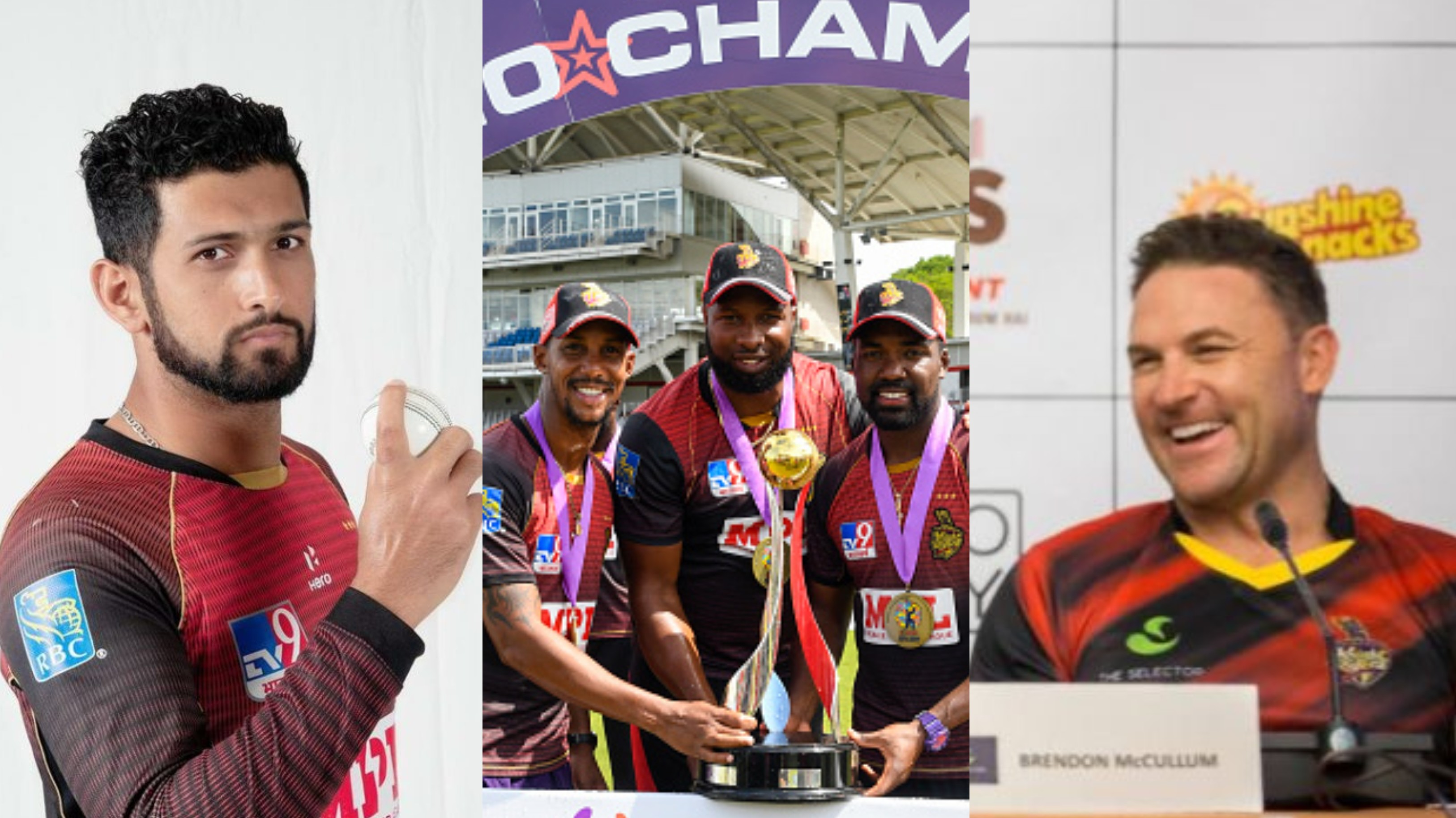 Sikandar Raza reveals Brendon McCullum used 'The Last Dance' documentary to inspire TKR to CPL 2020 title