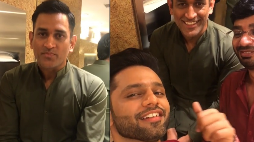 WATCH: Singer Rahul Vaidya wanted to know the secret behind MS Dhoni's calmness