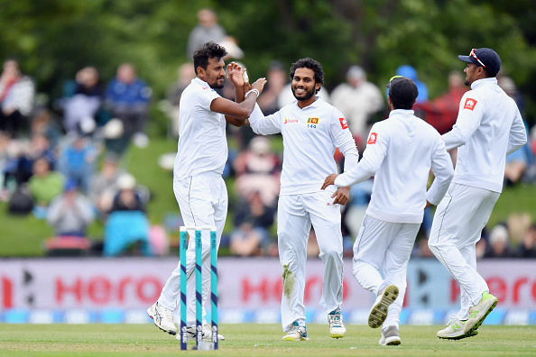 Sri Lanka bundled out New Zealand for 178 on Day of the final Test | Getty Images