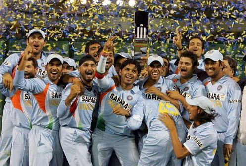 India won the 2007-08 tri-series in Australia under the captaincy of MS Dhoni