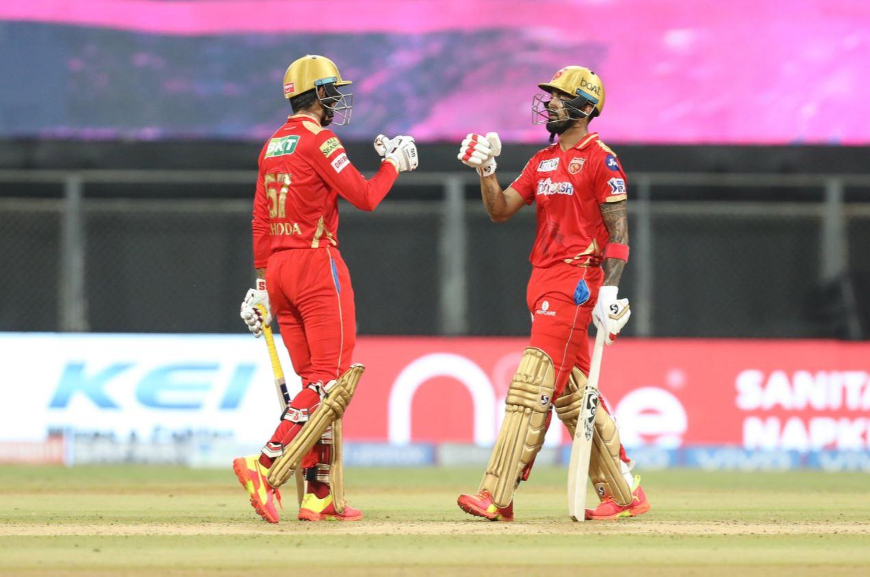 Deepak Hooda scored 64(28) whereas KL Rahul scored 91(50) against Rajasthan Royals | BCCI/IPL