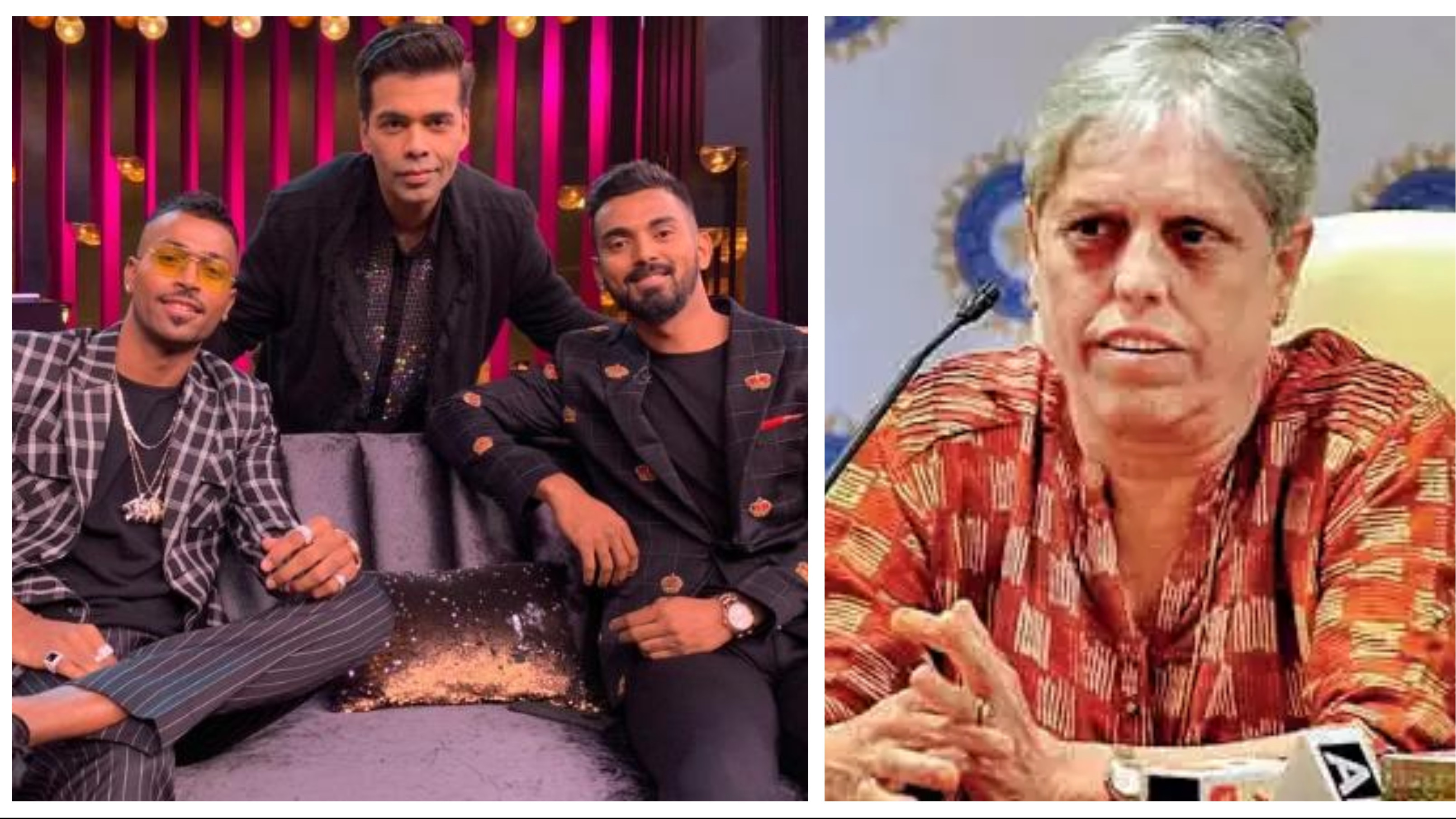 "CoA member Diana Edulji proposes ""suspension pending inquiry"" for Pandya and Rahul"