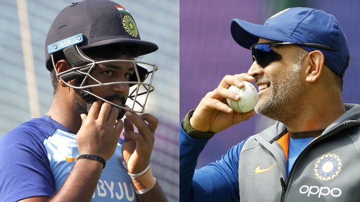 Sanju Samson recalls his dream about MS Dhoni that became a reality