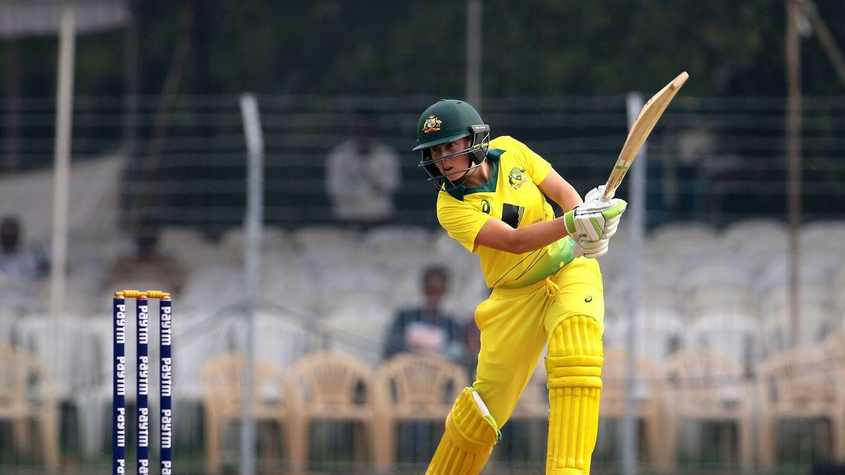 Alyssa Healy's 133 lead to Australia women whitewashing India women 3-0  in ICC Women's Championship