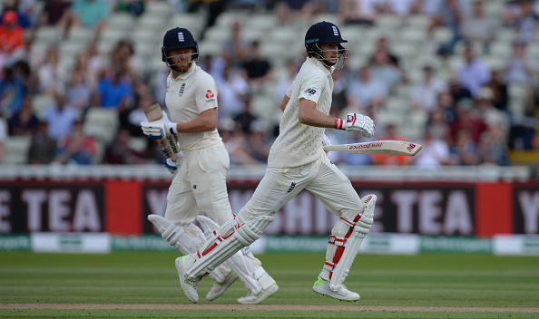 Joe Root (80) and Jonny Bairstow (70) took the day 1 batting honors for England | Getty