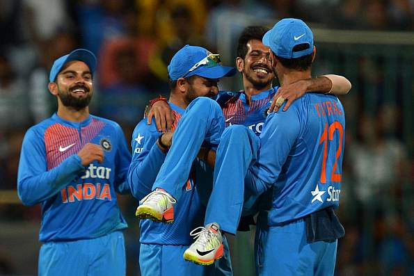Yuzvendra Chahal's 6/25 earned him ICC T20I performance of the year award | AFP