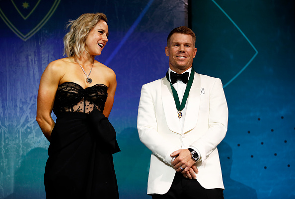 Ellyse Perry and David Warner | GETTY