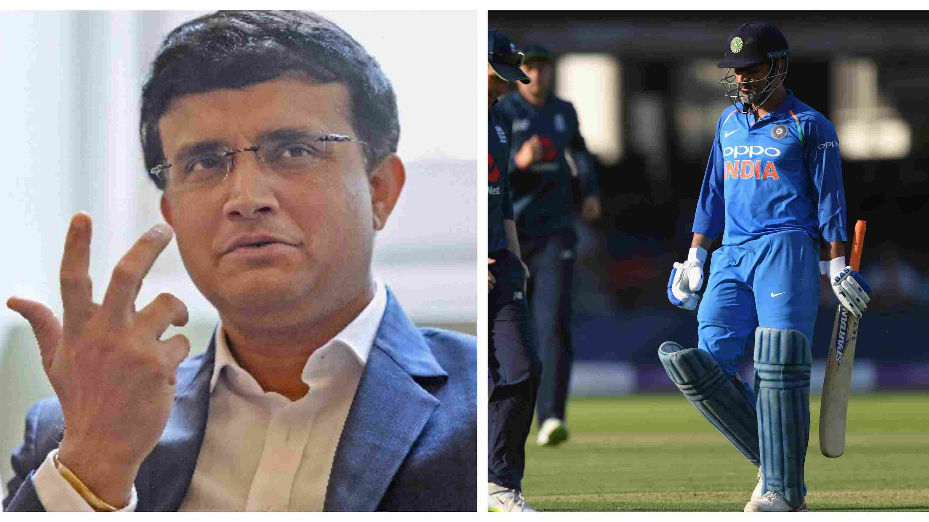 ENG v IND 2018: Sourav Ganguly shares his views on under-fire MS Dhoni