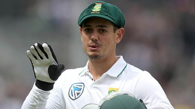 Test captaincy too much for me; don't want that stress, says Quinton De Kock