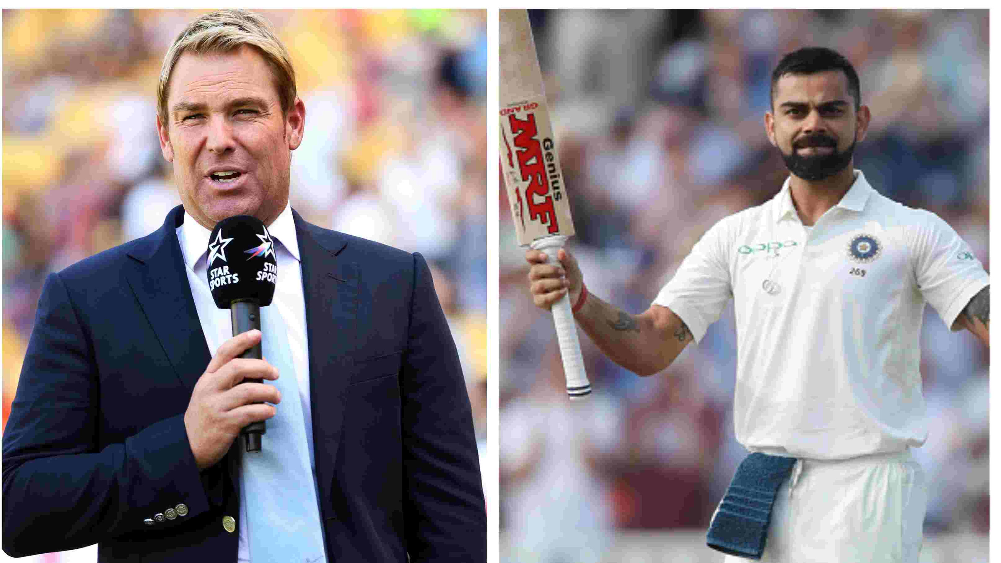ENG v IND 2018: Virat Kohli can go up there in the conversation involving Tendulkar and Lara, says Shane Warne
