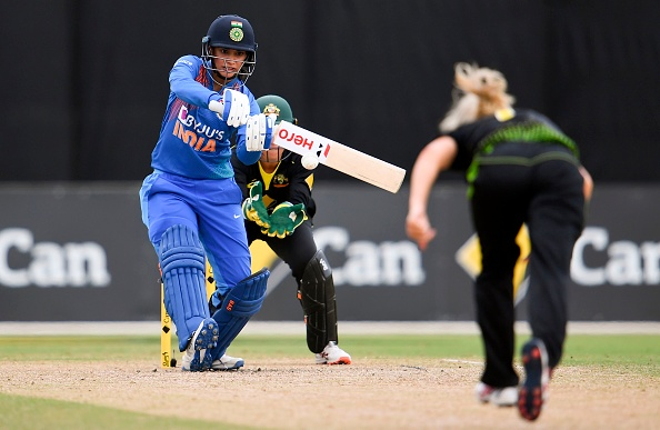 Smriti Mandhana was the lone warrior with the bat in the final for India | Getty