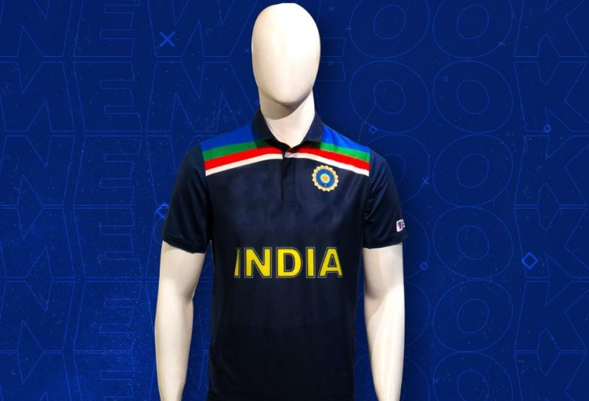 The new design jerseys are said to be inspired from India's 1992 WC design