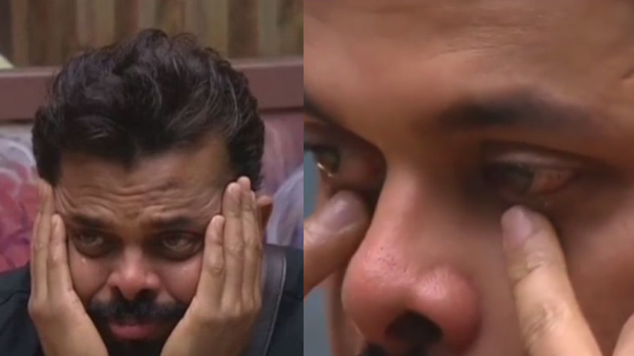 WATCH: S Sreesanth in tears after watching his wife's video message on Bigg Boss
