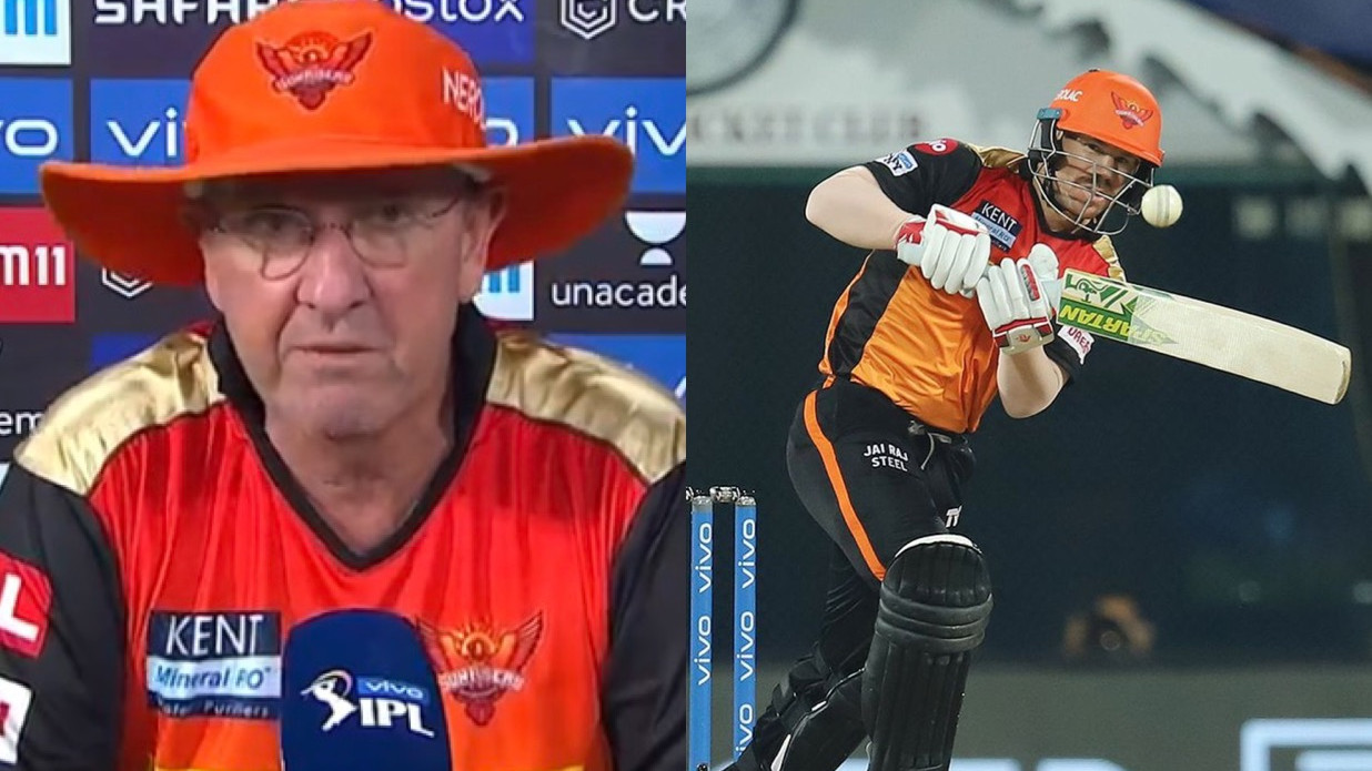 IPL 2021: It was very difficult to drop David Warner from playing XI, says SRH coach Trevor Bayliss