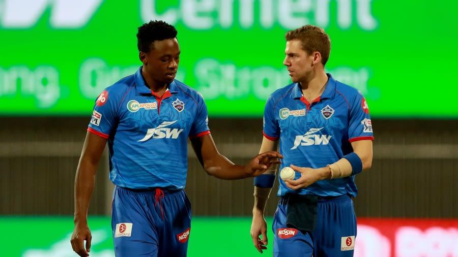 Kagiso Rabada and Anrich Nortje the backbone of DC bowling   BCCI/IPL