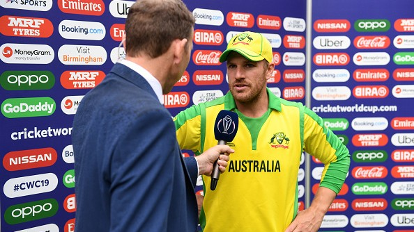 "CWC 2019: ""We were totally outplayed by England"", admits Aaron Finch"