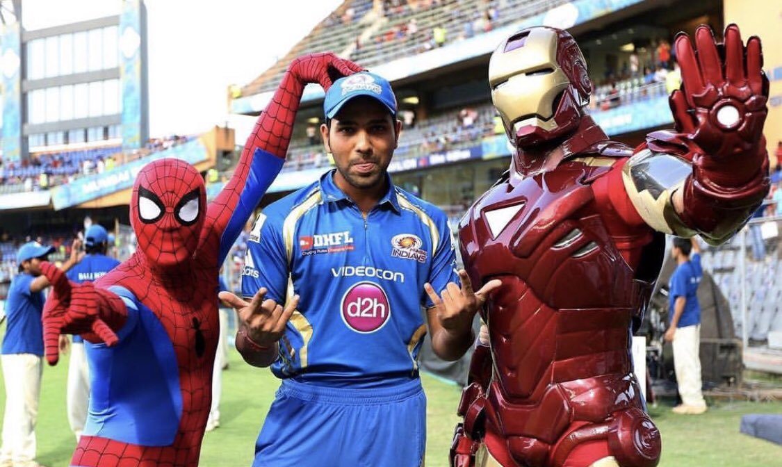 Rohit Sharma paid tribute to Spider Man co-creator and Marvel legend | Twitter