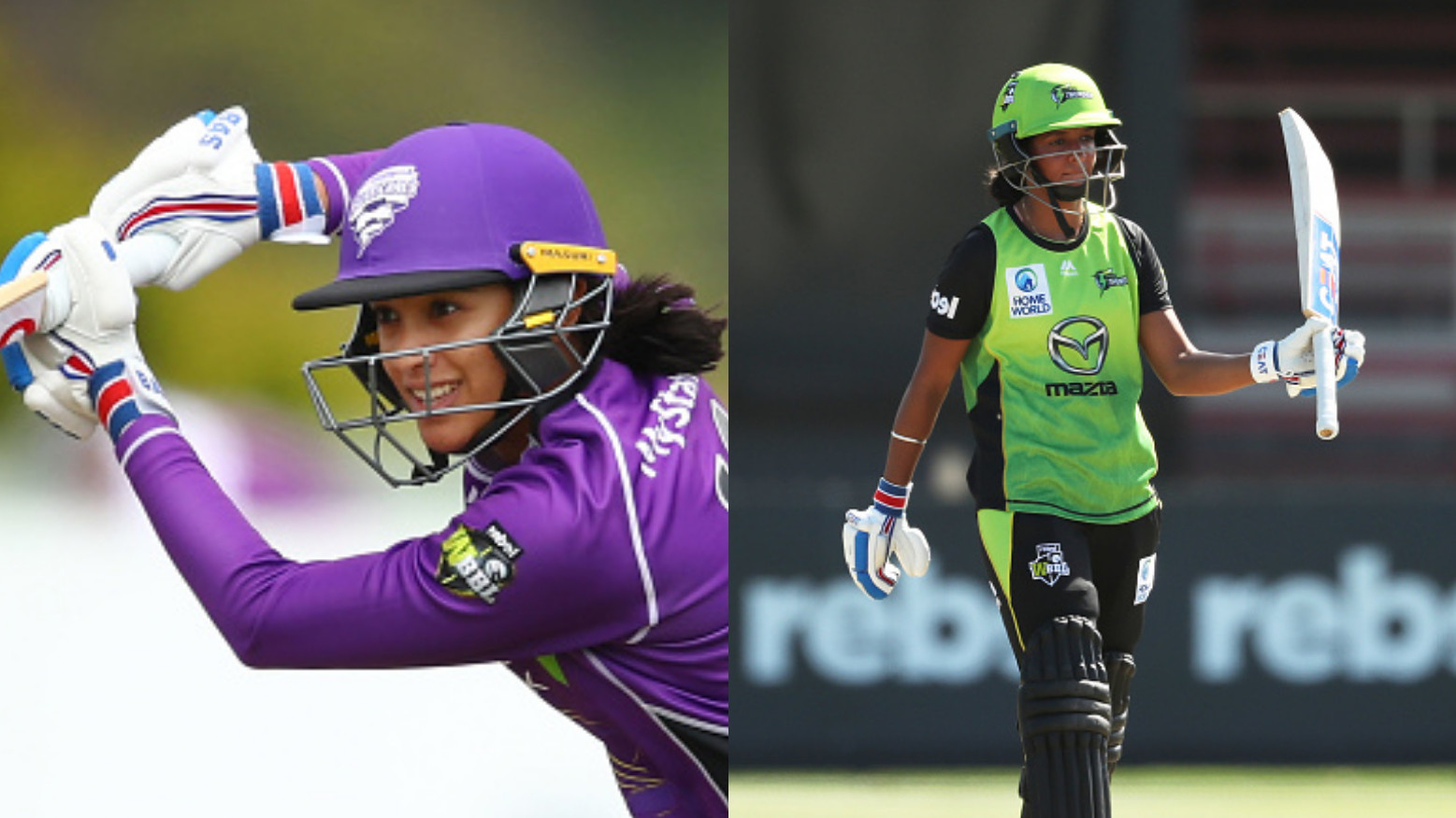 Smriti Mandhana and Harmanpreet Kaur hit match winning fifties for their teams in WBBL 2018