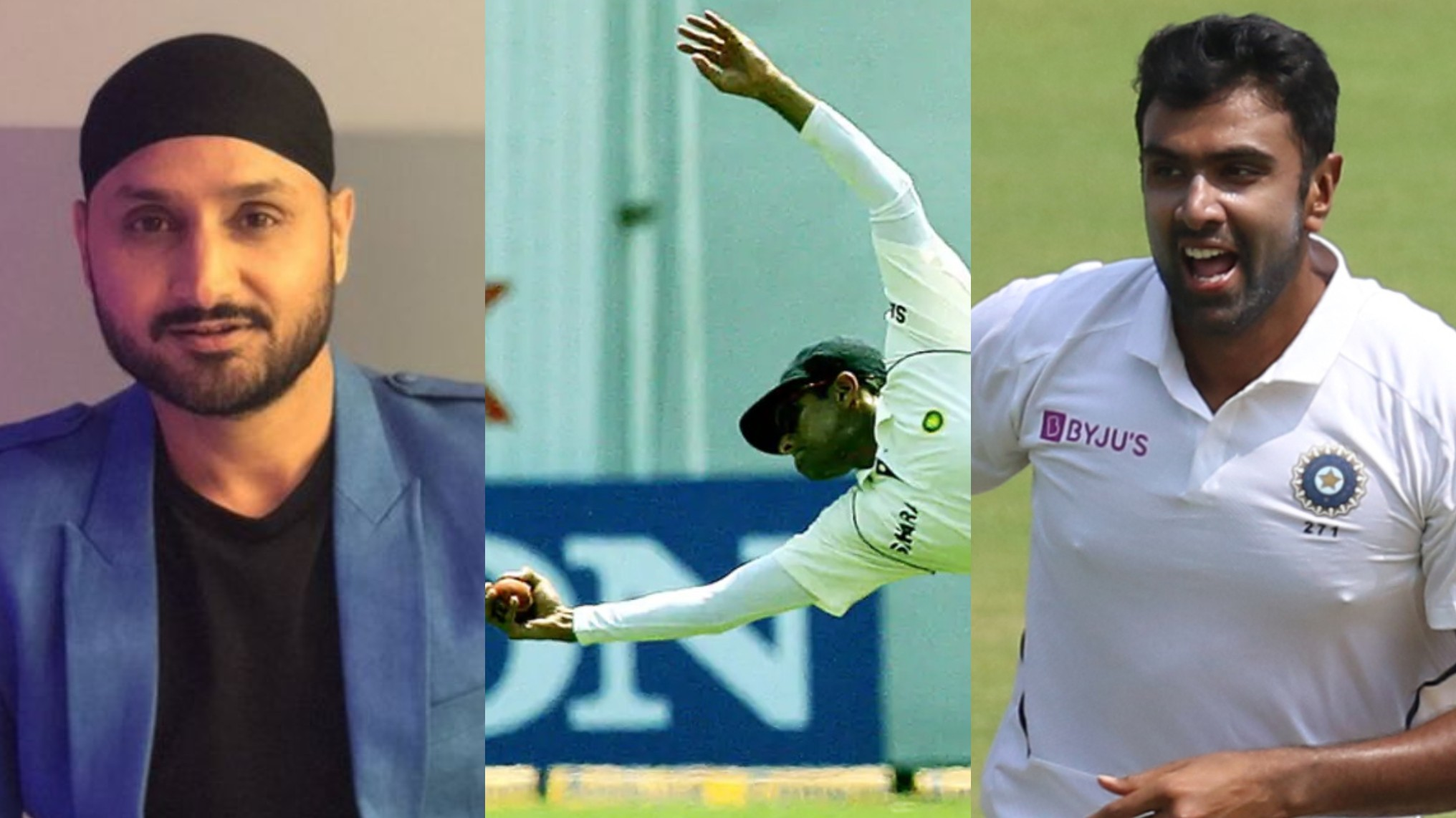WATCH- Harbhajan Singh shares Rahul Dravid's best catches compilation; Indian cricketers applaud