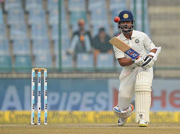Ajinkya Rahane remains unbeaten on 75* | AFP