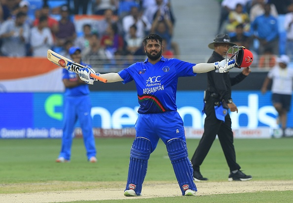 Mohammad Shahzad scored a scintillating century- 124 off 116 balls with 7 sixes and 11 fours | Getty
