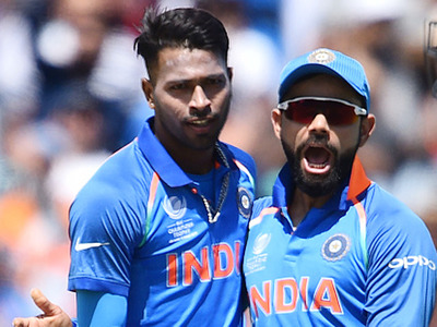 Hardik Pandya and Virat Kohli | GETTY
