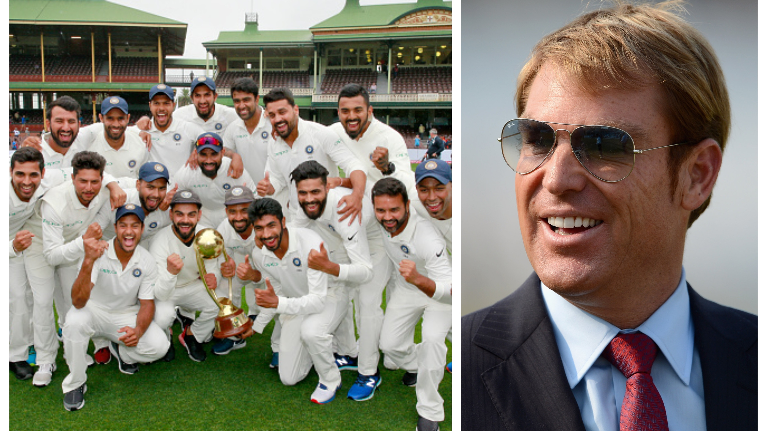 Shane Warne tips Team India to dominate world cricket for a long time