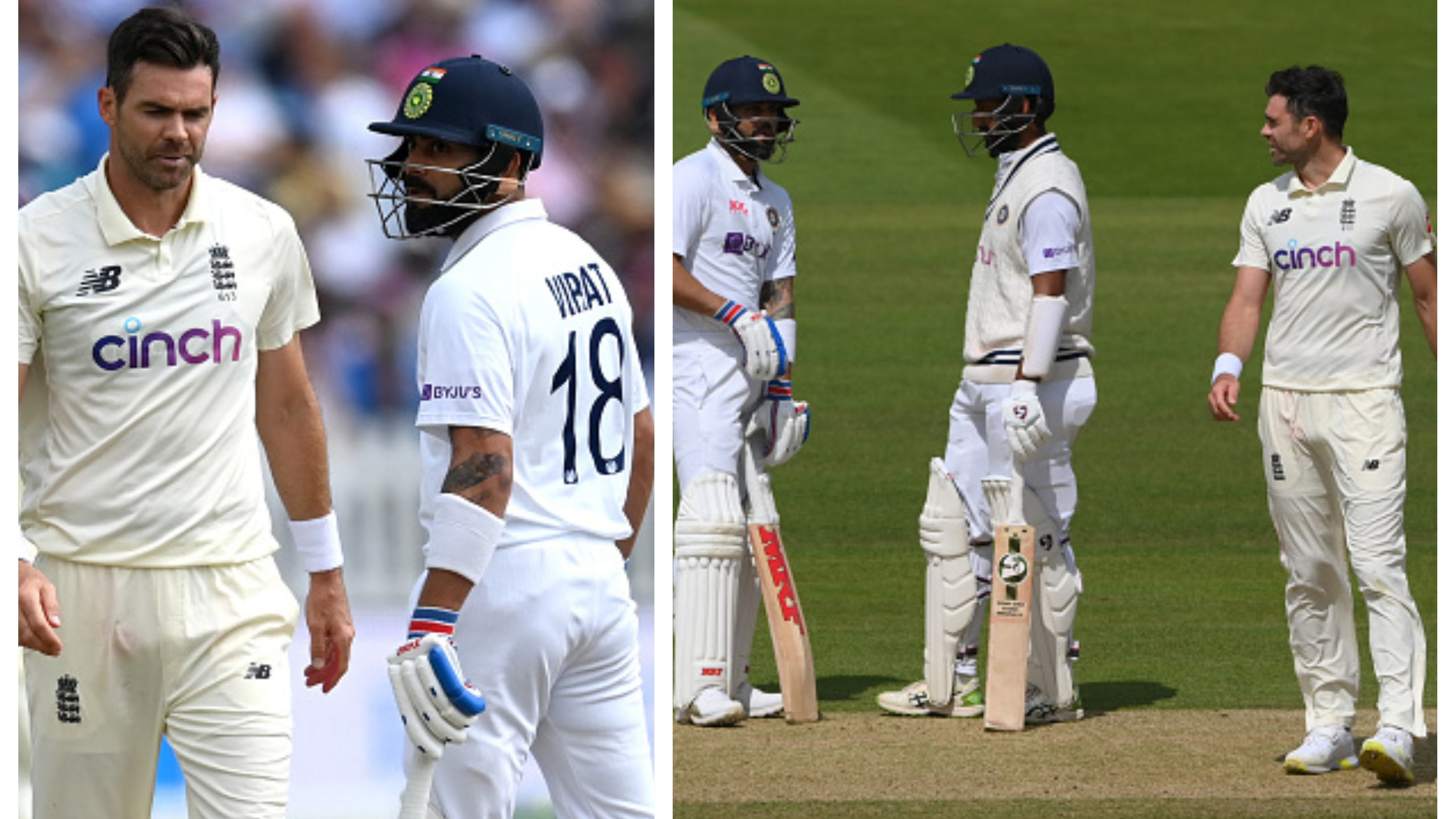 ENG v IND 2021: WATCH – Full Video of sledging incident between Kohli and Anderson emerges from Lord's Test