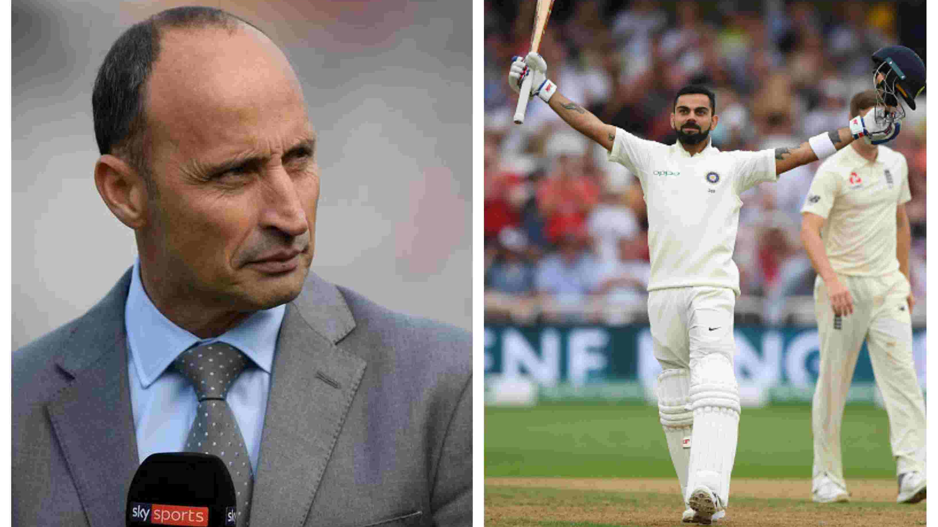 ENG v IND 2018: Virat Kohli is the greatest player on the planet right now, says Nasser Hussain