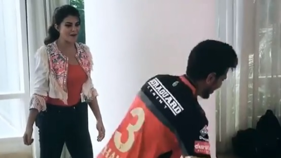 Watch: Yuzvendra Chahal's Hula Hoop dance with Jacqueline Fernandez