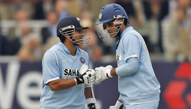 Sourav Ganguly reveals how Sachin Tendulkar asked him to open in ODIs