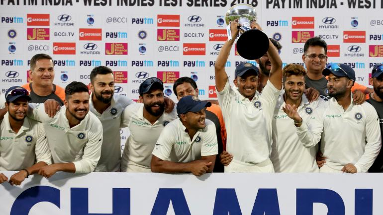 India won the 2-match Test series quite convincingly | AP