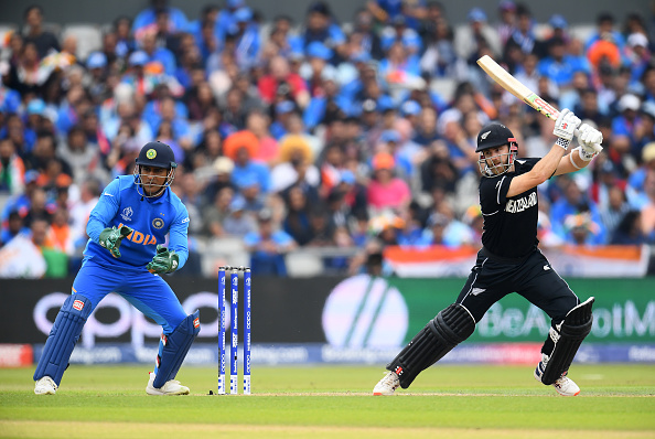 Kane Williamson and MS Dhoni | GETTY