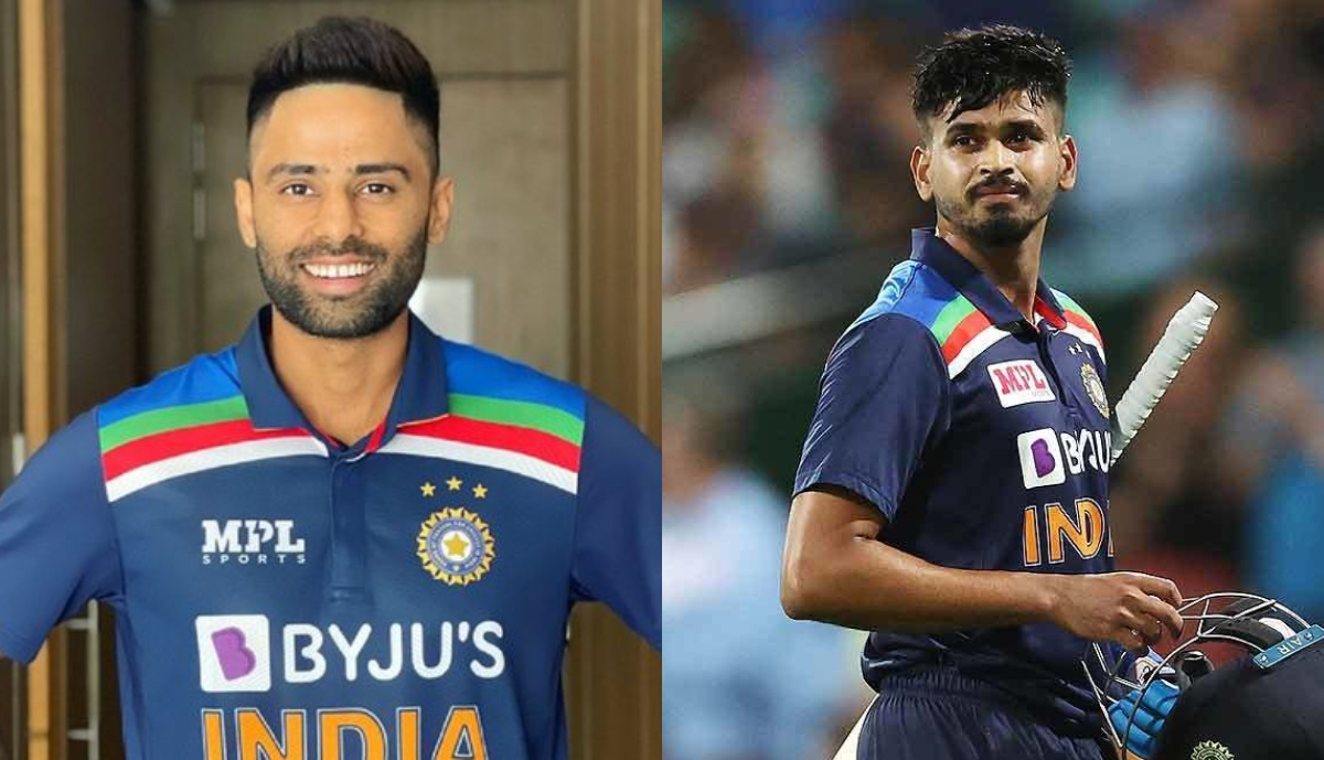 Shreyas and Suryakumar Yadav are best possible options for the NO.4 spot   AFP/Twitter