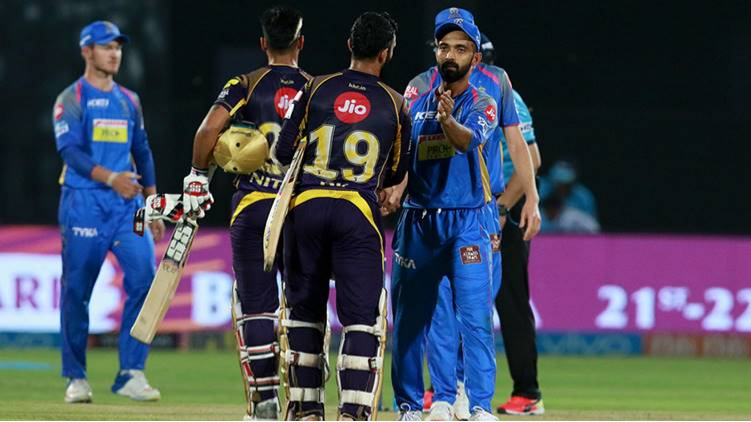 IPL 2018 : Match 49, KKR vs RR - Statistical Preview