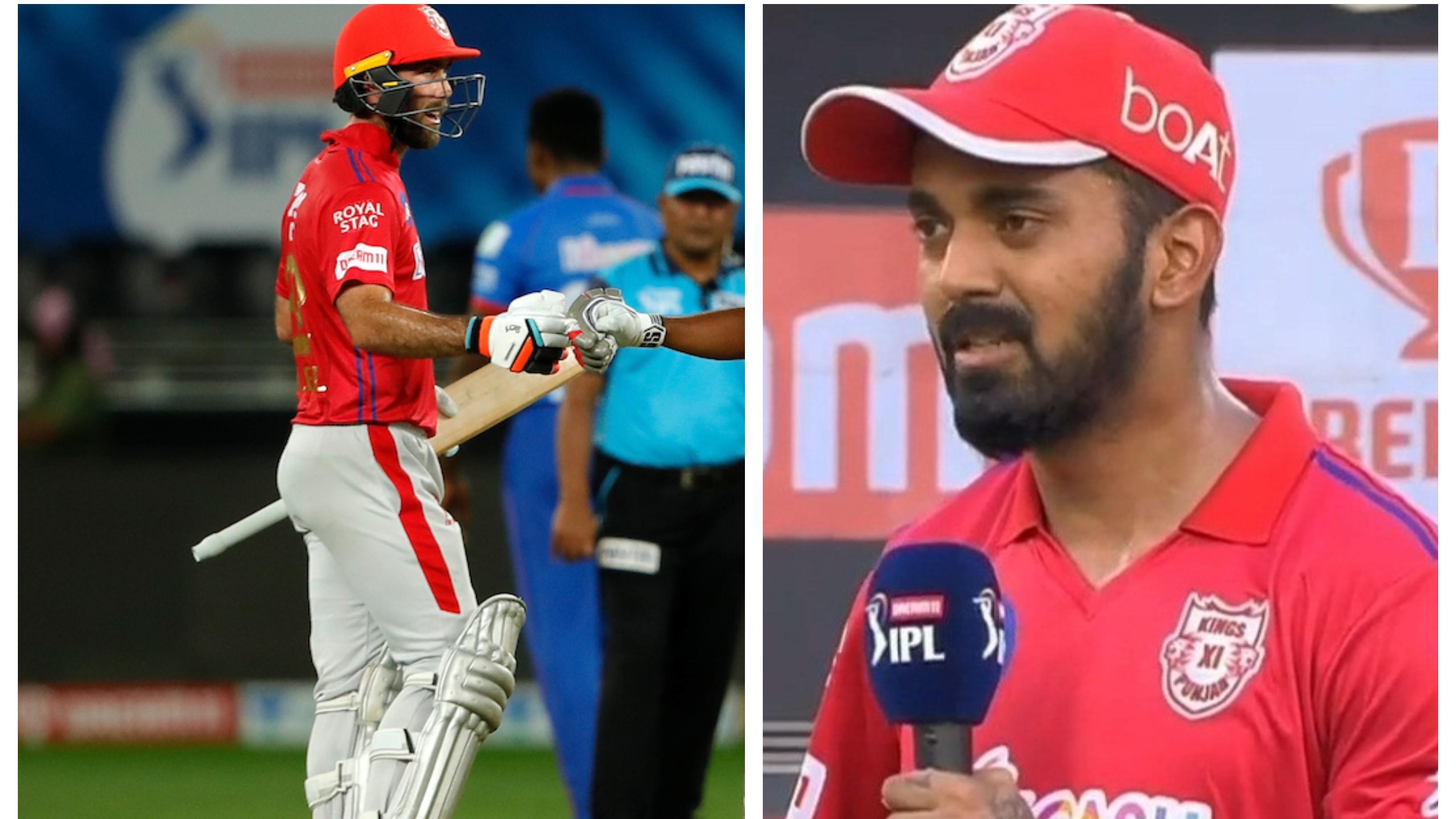 IPL 2020: KL Rahul hails Glenn Maxwell as