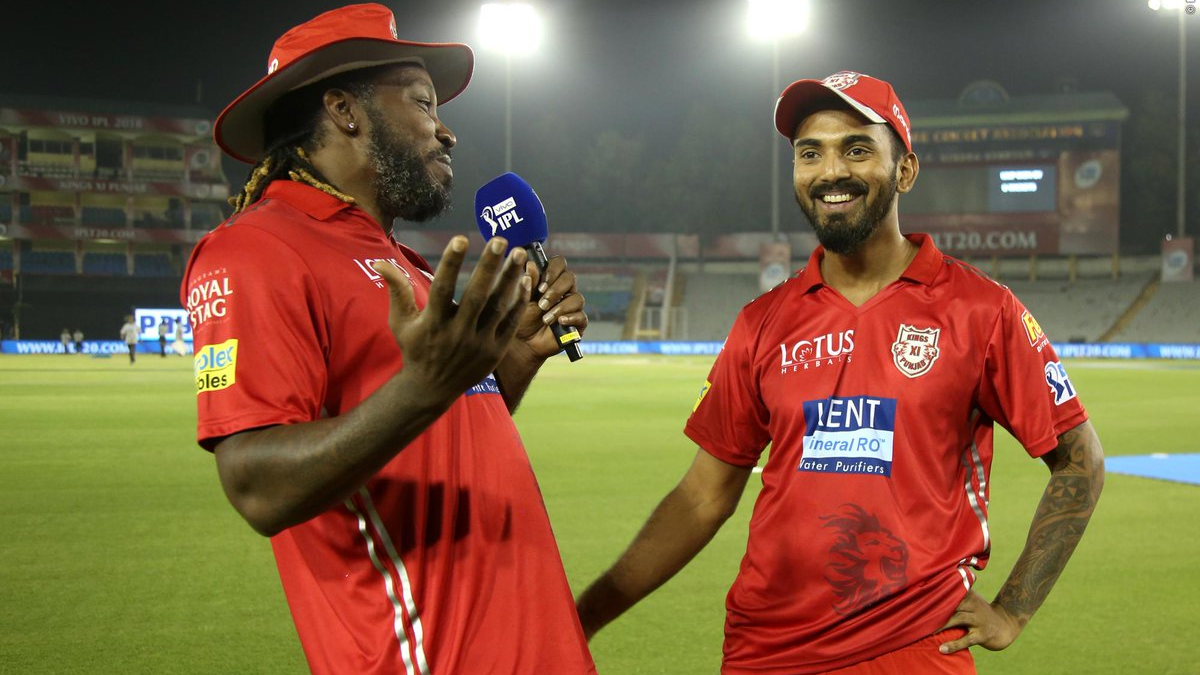 IPL 2018: KL Rahul acknowledges Chris Gayle's contribution after hitting the fastest IPL fifty