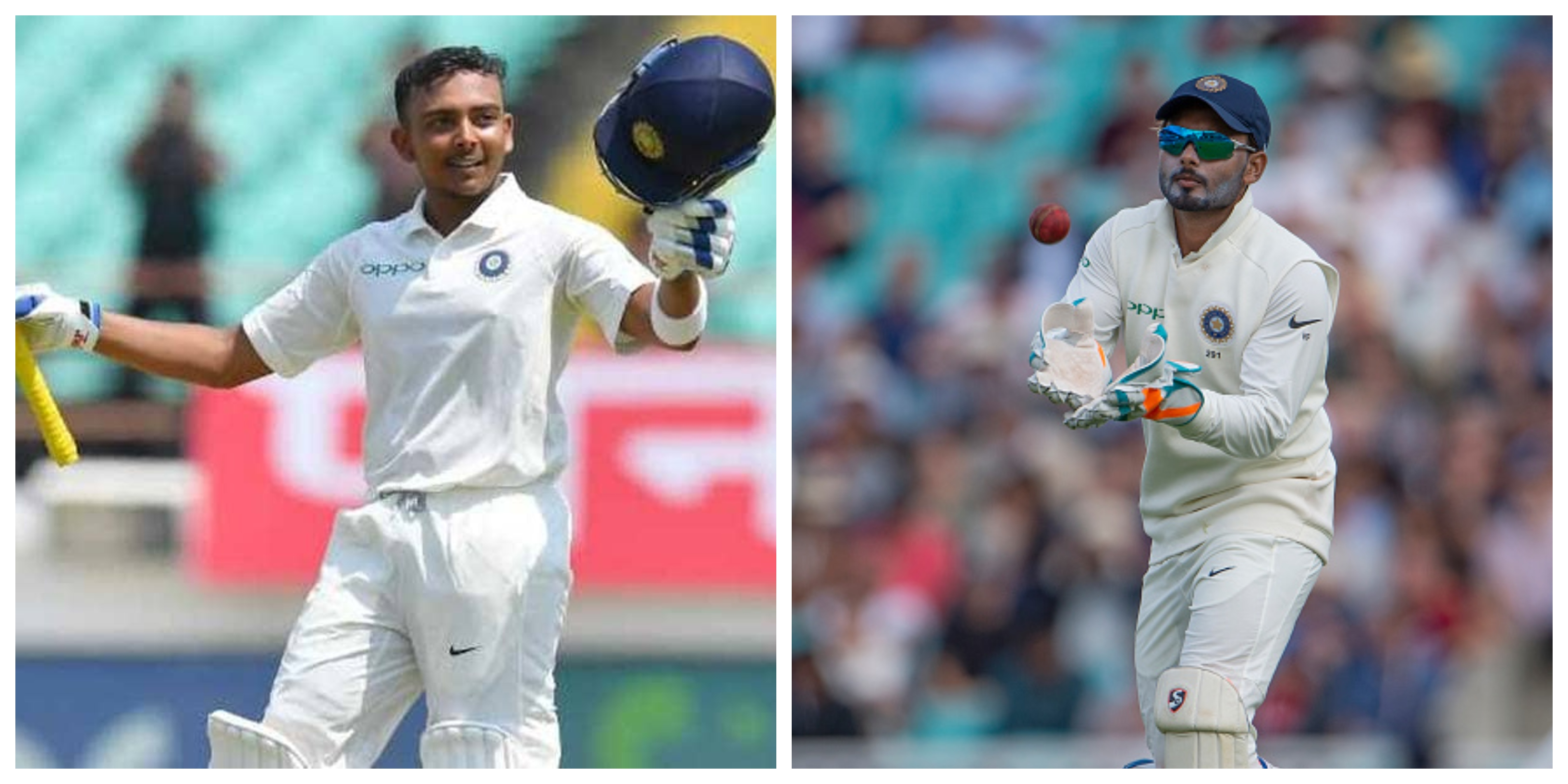Prithvi Shaw and Pant performed brilliantly against West Indies but India do need their back-ups for Australia