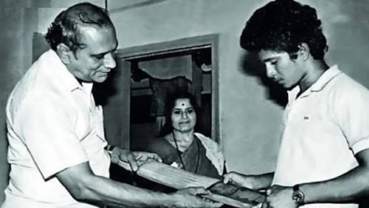"""""""My parents helped me become the person I am today,"""" Sachin Tendulkar's heartfelt post"""