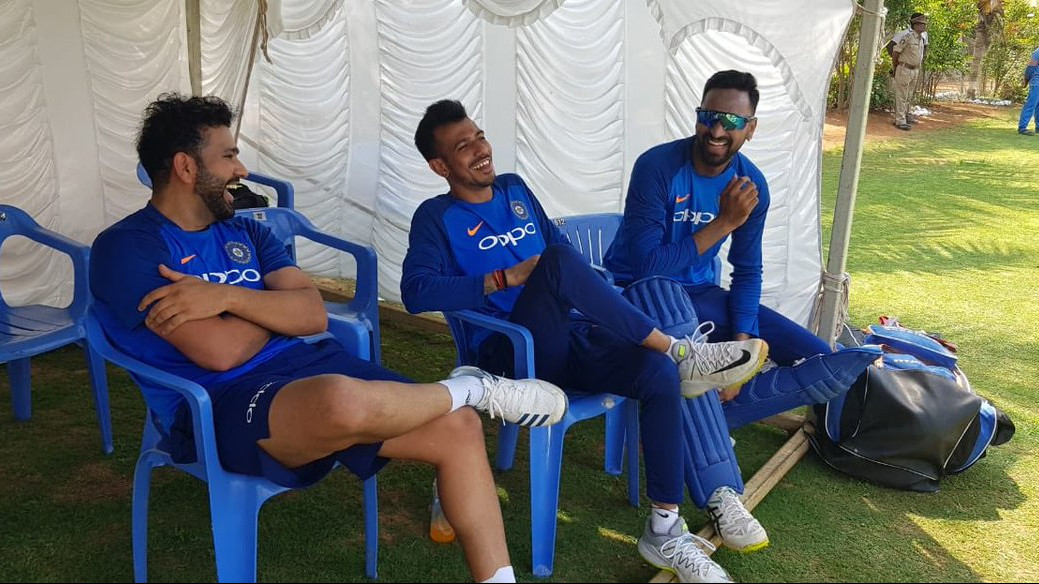 IND v AUS 2019: Yuzvendra Chahal shares his reaction after Rohit Sharma asked him to bat at no.3 in 1st T20I