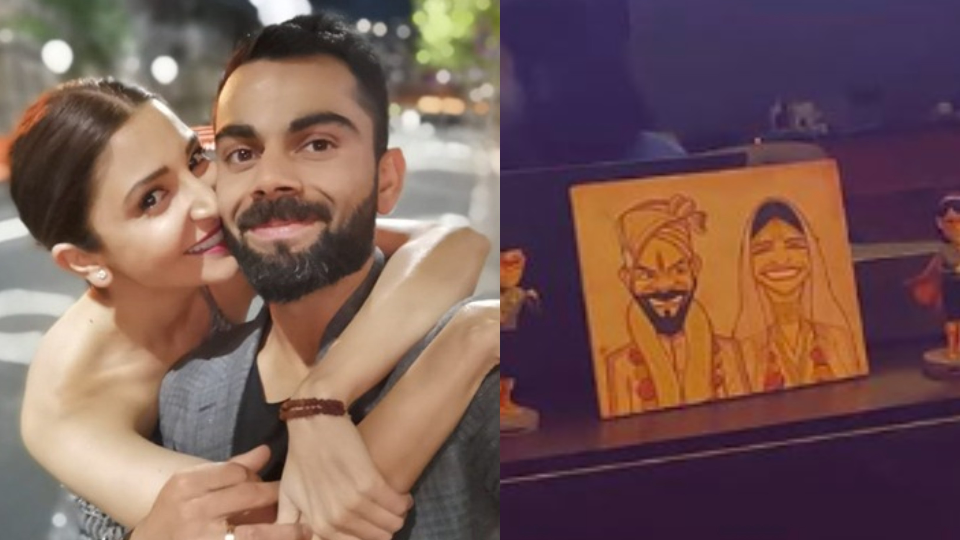 Virat Kohli And Anushka Sharma's wedding caricature creates buzz among fans