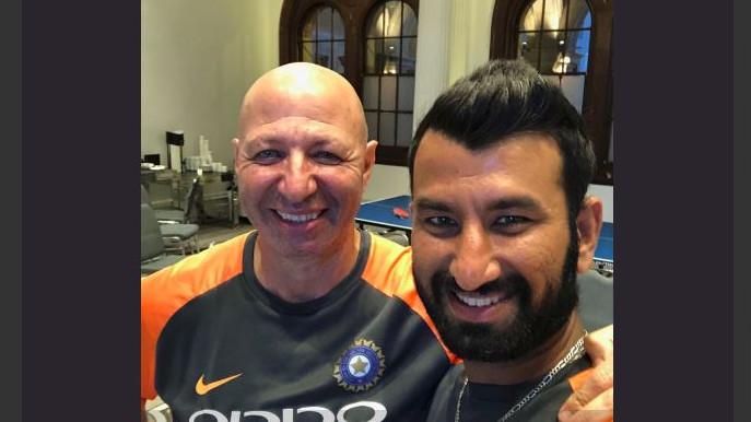 AUS v IND 2018-19 : शानदार फॉर्म में चल रहे चेतेश्वर पुजारा ने टीम इंडिया के फिजियो के लिए पोस्ट किया दिल छू जाने वाला संदेश